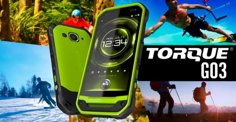Смартфон Kyocera Torque G03 – передовые технологии и суперзащищенность