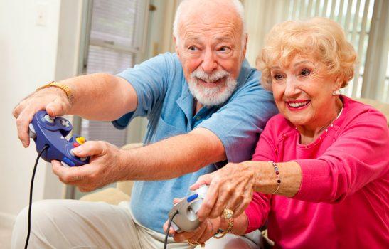 Игры для пожилых людей