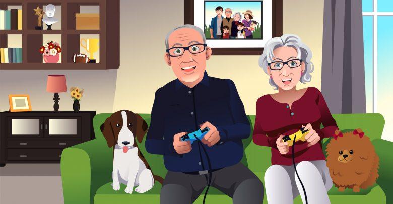 Видеоигры для пожилых людей