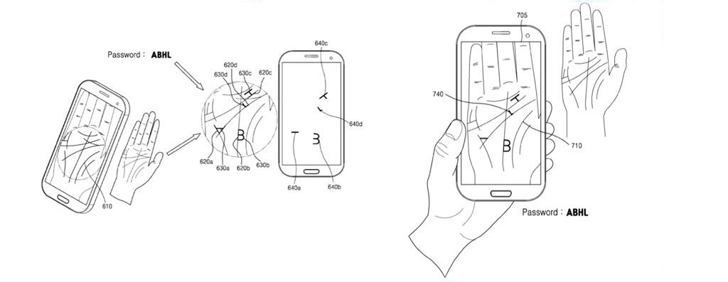 Восстановить пароль по ладони — новая система от Samsung