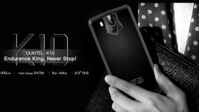 OUKITEL K10 — отличный смартфон с NFC и батареей в 11 000 мА·час