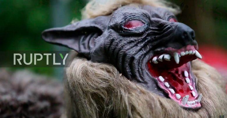 Super Monster Wolf охраняет фермерские поля в Японии
