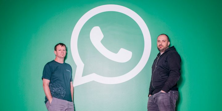 Создатели WhatsApp Ян Кум и Брайан Актон