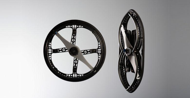 Немецкий дизайнер создал складывающееся колесо