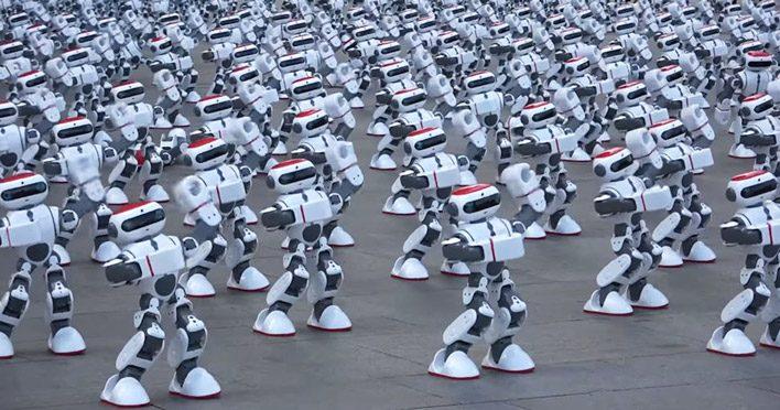 Китайцы хотят создать целую армию роботов-андроидов