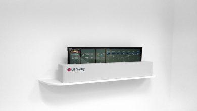 LG Display показала первый телевизор, который можно свернуть в рулон