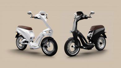 Ujet – инновационный электроскутер с колесами без осей (фото и видео)