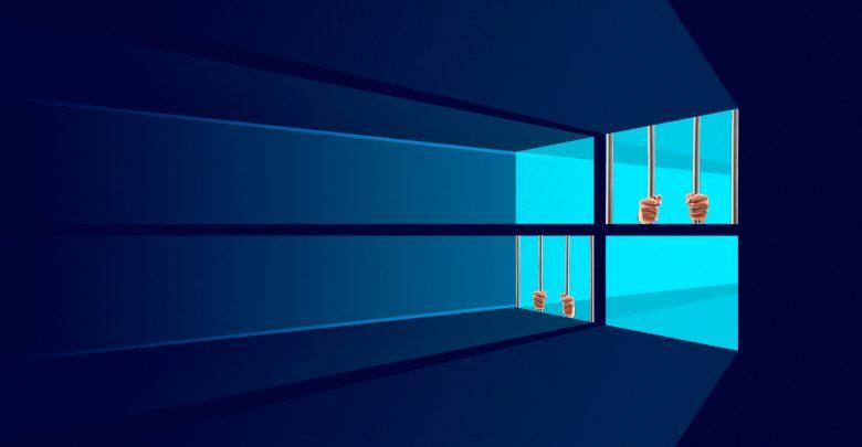 Пользователи Windows 10 в одном «шаге от тюрьмы»