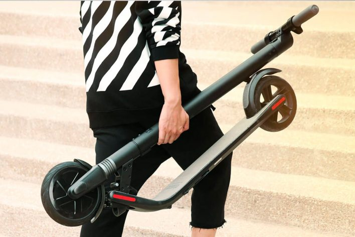 Электросамокат KickScooter от Segway-Ninebot