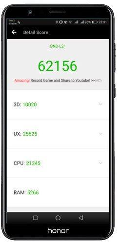 Honor 7X «безрамочный» смартфон по разумной цене