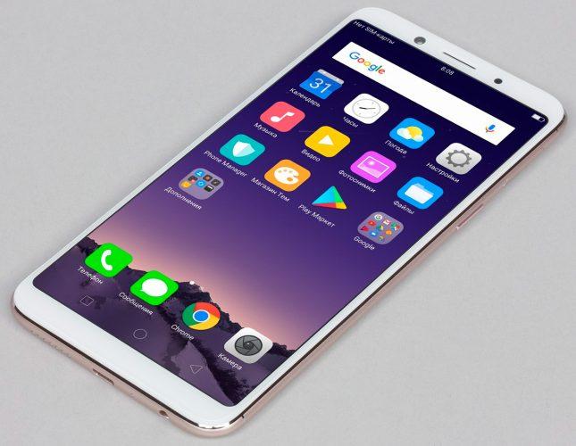Селфифон Oppo F5. Обзор бюджетных характеристик смартфона