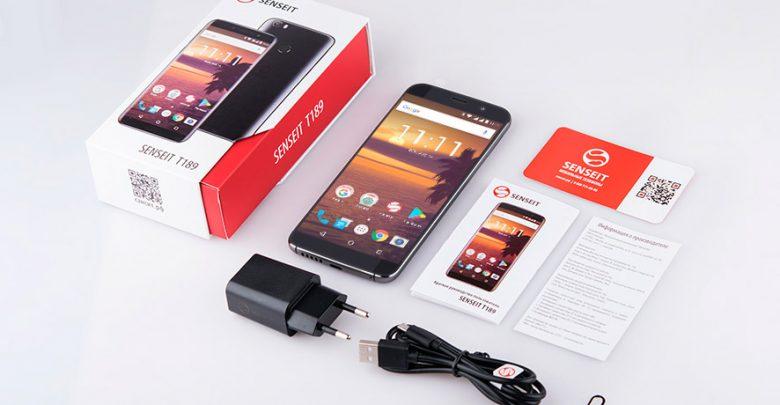 SENSEIT T189. Безрамочный 4G/LTE смартфон