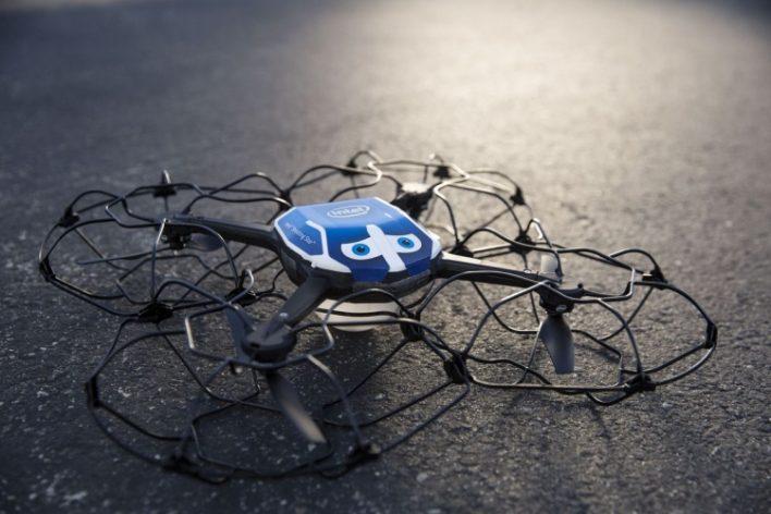 Шоу дронов на Олимпийские играх в Южной Корее и новый рекорд Intel