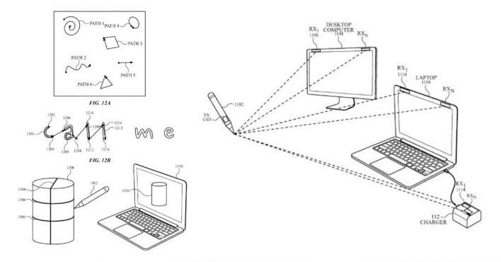 В Apple придумали стилус, способный рисовать в воздухе