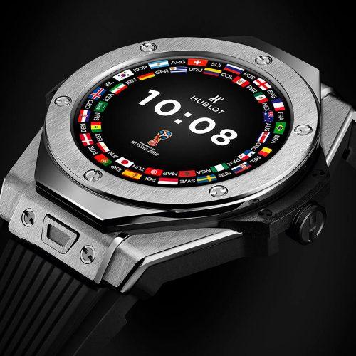 Часы Hublot стали официальными часами ЧМ-2018