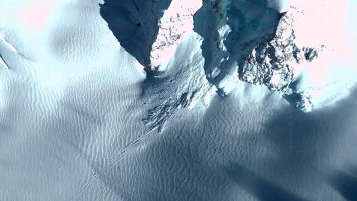 Google Maps в Антарктиде