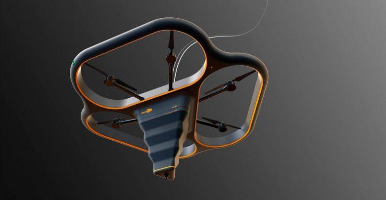 Летающие принтеры Fly Elephant способны строить многоэтажки!