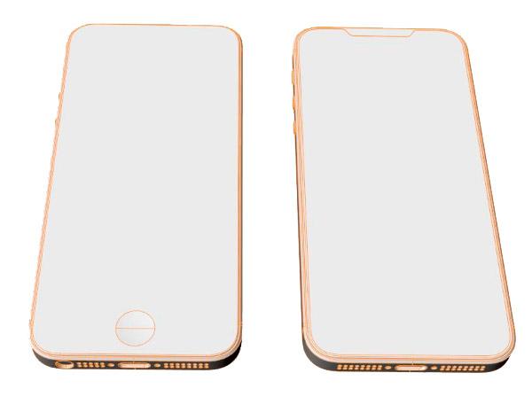 В Сети появились изображения макета iPhone SE2