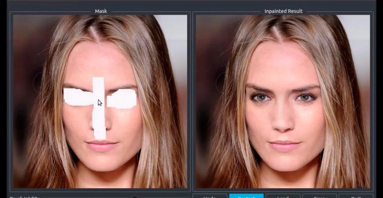 NVIDIA использует ИИ для восстановления фото