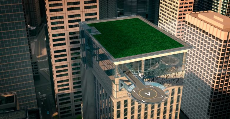 Воздушная инфраструктура — Volocopter проектирует города для летающих такси