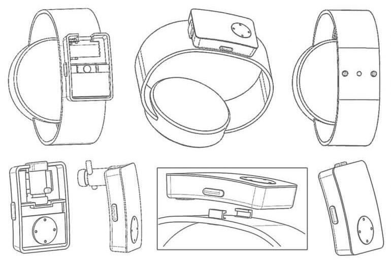 Huawei запатентовала умные часы сместом для хранения изарядки беспроводной гарнитуры